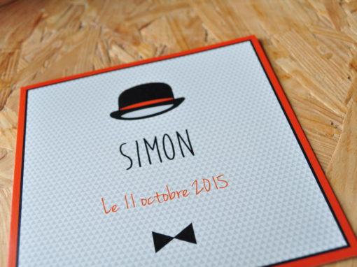 Simon a la classe