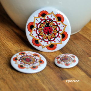 badge coccinelle