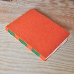 agenda orange vert