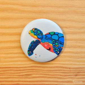 badge tortue