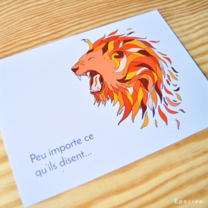 carte lion epacrea